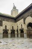 Bou Inania Madrasa Stock Images