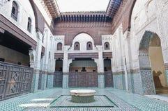 Bou Inania Madrasa at Meknes, Morocco Stock Photos