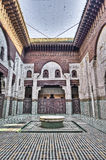 Bou Inania Madrasa at Meknes, Morocco Stock Image