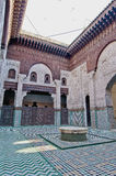 Bou Inania Madrasa at Meknes, Morocco Stock Photography