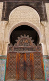 The Bou Inania Madrasa  in the old medina of Fes, Morocco Stock Photography