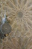 Bou Inania Madrasa, sławny przykład Maranid architektura i popularny turystyczny widok, Fes, Maroko, afryka pólnocna Zdjęcia Royalty Free