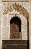 Bou Inania Madrassa en Fes, Marruecos Fotos de archivo