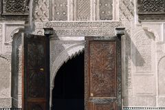 Bou Inania Madrassa in Fez, Morocco Stock Images