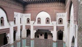 Bou Inania Medrese, Meknes, Morocco Stock Image
