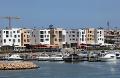 Bou Regreg Marina in Sale, Morocco Royalty Free Stock Photo