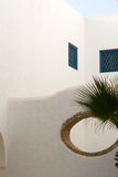 Bou Sidi εν λόγω, Τυνησία, αρχιτεκτονική λεπτομέρεια Στοκ Φωτογραφία