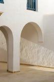 Bou Sidi εν λόγω, Τυνησία, αρχιτεκτονική λεπτομέρεια Στοκ εικόνες με δικαίωμα ελεύθερης χρήσης