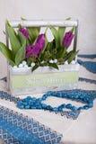 Bouauet van tulpen stock fotografie