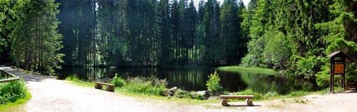 Boubin lake Royalty Free Stock Images
