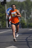 Boubker El Afoui in Prague marathon Royalty Free Stock Photography