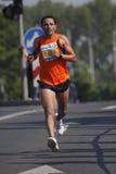 Boubker El Afoui in Prague marathon Royalty Free Stock Photography