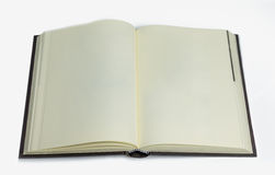 Bouble blank pages on white background Stock Photography