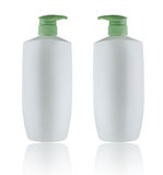 Bouble White Bottles on Whitebackground Royalty Free Stock Photo