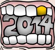 Bouche 2014 Photographie stock