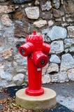 Bouche d'incendie Photo libre de droits