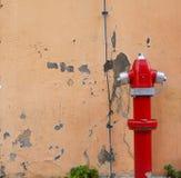 Bouche d'incendie de rue Photos stock