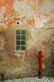 Bouche d'incendie rouge image libre de droits