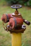Bouche d'incendie rouillée image stock