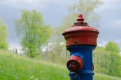 Bouche d'incendie saignée photographie stock libre de droits