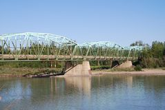 Bouche de Freeman River Image libre de droits