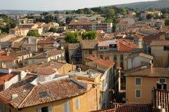 Bouche du Rhone, cidade do salão de beleza de Provence imagem de stock royalty free