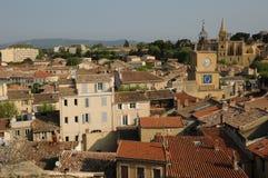 Bouche du Rhone, city of Salon de Provenc Stock Images