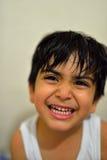 Bouche et dents d'enfant Photographie stock libre de droits