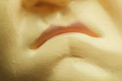 Bouche fâchée miniature Images libres de droits