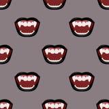 Bouche noire de vampire wallpaper Photographie stock libre de droits
