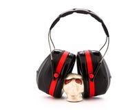 Bouche-oreilles de protection d'audition Photo stock