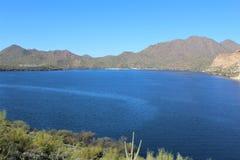 Boucher Jones Beach Arizona, réserve forestière de Tonto Images libres de droits
