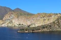 Boucher Jones Beach Arizona, réserve forestière de Tonto Photo stock