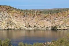 Boucher Jones Beach Arizona, réserve forestière de Tonto Photos libres de droits