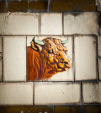 Boucher Shop Bull Tile Photos stock
