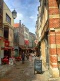 Bouchers de DES de rue à Bruxelles photographie stock libre de droits