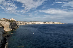 Bouches de Bonifacio. Amazing landscape place in Corsica France Royalty Free Stock Photography