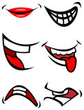 Bouches de sourire illustration libre de droits