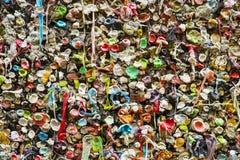 Bouchons de bubble-gum Photo stock