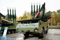 Bouck M2E surface-to-air missile systems Stock Image