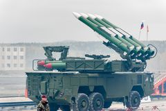 Bouck M2 surface-to-air missile systems Stock Photo