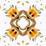 Bouclage de commutateur de kaléidoscope de batik Photos libres de droits