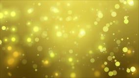 Boucle élégante de fond d'or clips vidéos