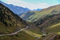 Boucle alpine du Colorado photos stock