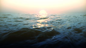 Boucle brillante de vagues illustration de vecteur