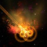 Boucle cosmique Image stock