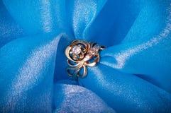 Boucle d'or de bijou Photographie stock libre de droits