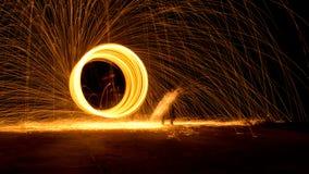 Boucle d'incendie Photo libre de droits