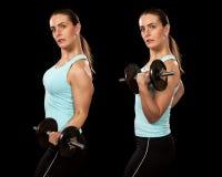 Boucle de biceps Photos libres de droits