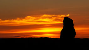 Boucle de Brodgar Orkney en pierre Photo stock